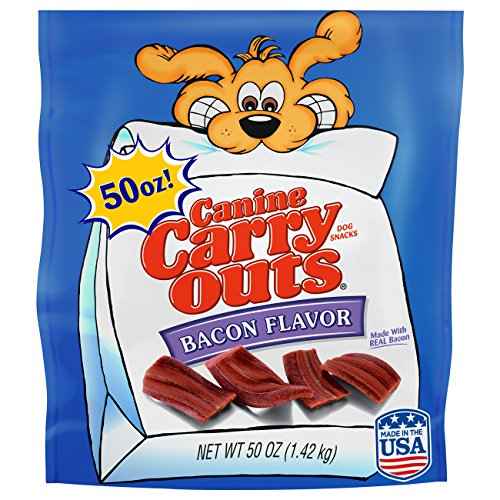 Canine Carry-Outs Bacon Flavor Dog Treats