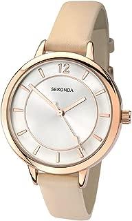 Sekonda Women's SK2137 Year-Round Analog Quartz Beige Watch