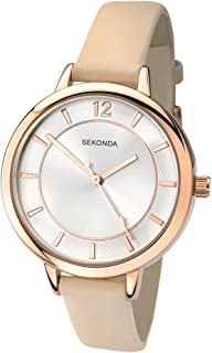 Sekonda Women's SK2137 Year-Round Analog Quartz Beige Watch