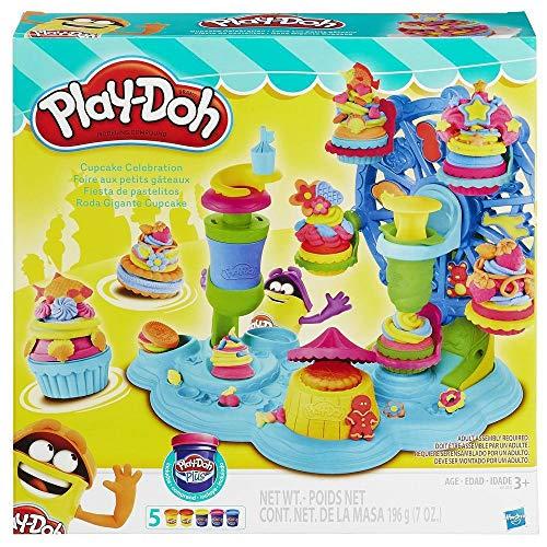 Playdoh Cupcake Celebration Playset, Multi Color