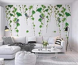 Wallpaper 3D Wall Insect Plant Vine Green Modern Decoration Home Bedroom Box Decoration Salon 3D Behang Slaapkamer Decorat...