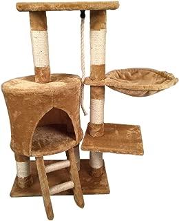 Fancy Pets Mueble Para Gato Con Escalera Y Hamaca, 96 Cm