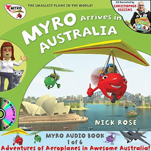 Myro Arrives in Australia audiobook cover art