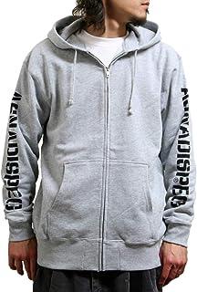 (アスナディスペック) パーカー メンズ 大きいサイズ スウェットジップパーカー フード ブランド ロゴ 袖プリント assz2247
