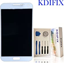 KDIFIX for Samsung Galaxy E5 SM-E500 E500F E500H E500HQ E500M E500Y E500DS E5000 E500AZ LCD Touch Screen Assembly with Full Professional Repair Tools kit (White)