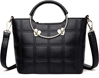 Small Top-Handle Purses and Handbags for Women - Ladies Mini Leather Purse