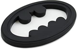 Bumkins DC Comics Batman Silicone Teether, Textured, Soft, Flexible, Bacteria Resistant