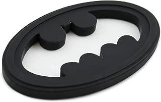Bumkins DC Comics Batman Silicone Teether, Textured, Soft, Flexible, Bacteria Resistant