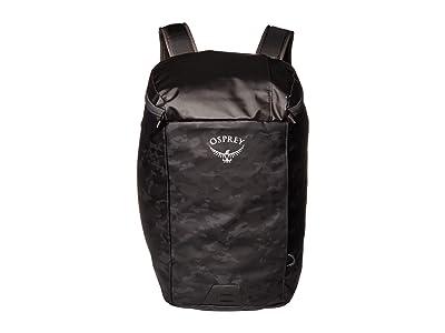 Osprey Transporter Zip Top (Camo Black) Backpack Bags