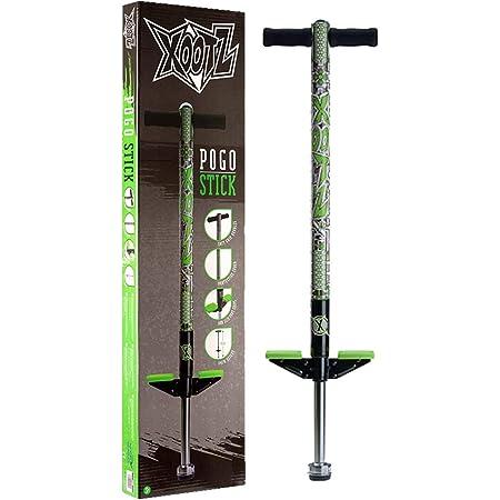 Xootz Ty6045, Pogo-Bastone per Bambini e Ragazze, Design Industriale Unisex-Adulto, Verde, Taglia Unica