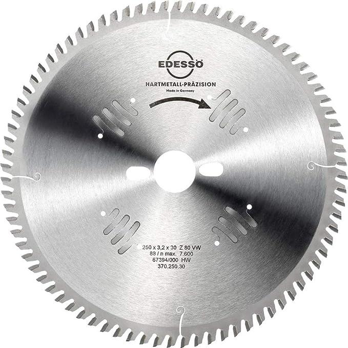 Ø 250 mm x 2,8 mm x 30 mmZ=80 TF negativ HM Kreissägeblatt Antischall