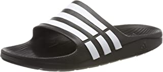 adidas Men's Duramo Slide Shoes, Black, 6 US
