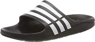 adidas Men's Duramo Slide Shoes, Black, 6 US
