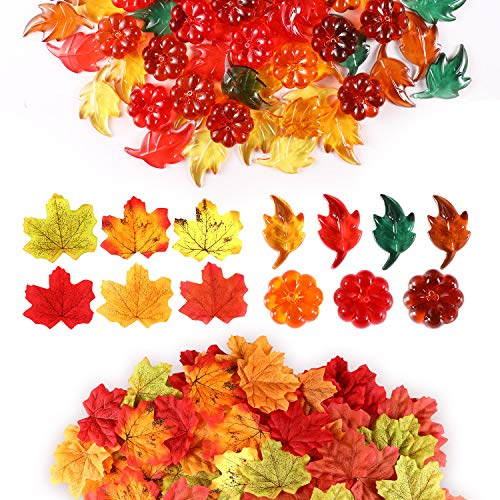 Acrylic Fall Table Scatter