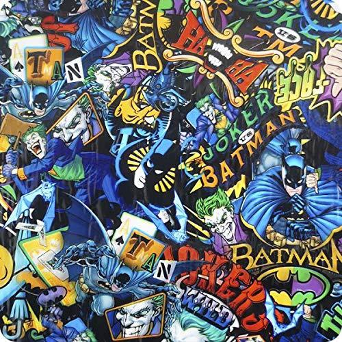 HYDRAWTP Wassertransferdruck Folie - Batman-Comic HOT-151 (2)