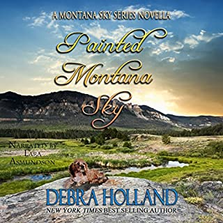 Painted Montana Sky audiobook cover art