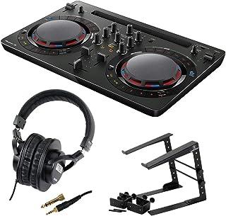 Pioneer DDJ-WEGO4-K black DJコントローラー LPS-002 ラップトップスタンド SD GAZER SDG-H5000 ヘッドフォン 3点セット