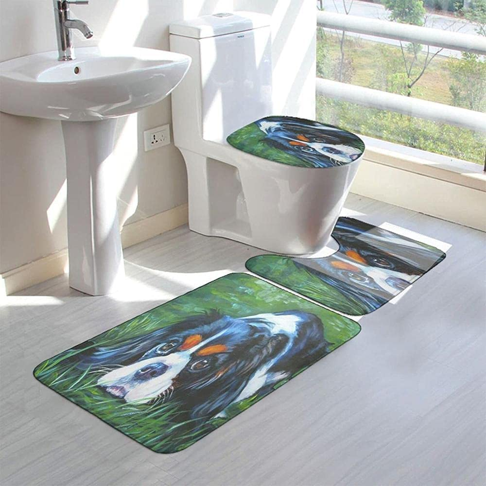 Green Dog Memphis Mall Bathroom Rugs Sets Clearance SALE! Limited time! Toilet Slip Cover Pieces 3 Non Seat