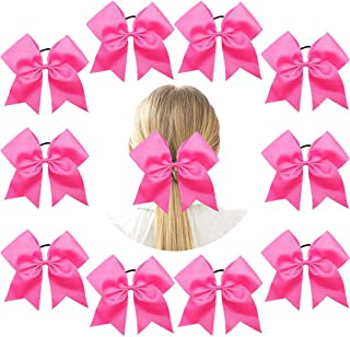 breast cancer cheer bows