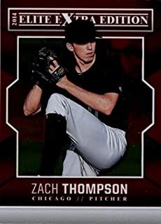 2014 Panini Elite Extra Edition 25 Zach Thompson Chicago White Sox Baseball Card