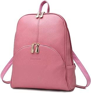 Brand Women Bags Backpack Purse PU Leather Zipper Bags...