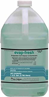 Nu-Calgon 4166-08 Evap-Fresh No Rinse Evaporator Coil Cleaner and Disinfectant Bottle, 1 Gallon