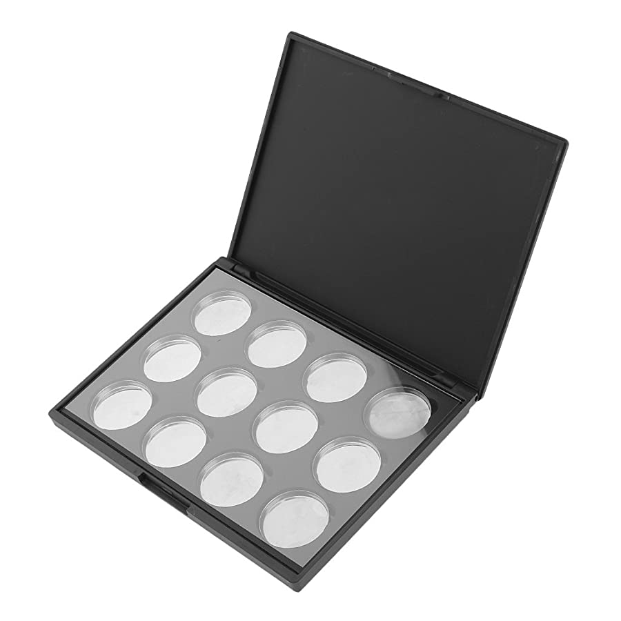 感染するアコードはっきりとKesoto カスタム化粧パレットケース アイシャドウケース アイシャドーパレット メイク DIYツール 6色/12色/28色用 全3タイプ選べ - 12穴