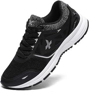 Ahico Zapatillas de Deporte para Correr Hombres Tenis Zapatos Ligero Moda Caminar Transpirable Entrenamiento Deportivo par...