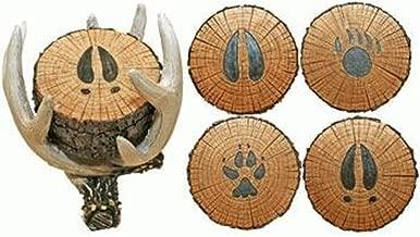 Old West Deer Antler Coaster Set
