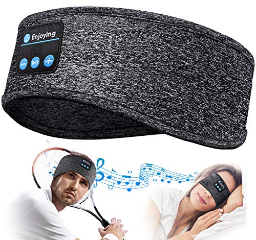 Schlafkopfhörer Bluetooth Geschenke für Frauen/Männer - Schlaf Kopfhörer Personalisierte Geschenke Sleepphones mit Ultradünnen HD Stereo Lautsprecher, Super Weich SchlafKopfhörer für Schlaf, Tinnitus