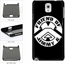 Friend of Jimmy K TPU RUBBER SILICONE Phone Case Back Cover Samsung Galaxy Note III 3 N9002 includes BleuReign(TM) Cloth and Warranty Label