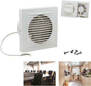 HG - Ventilateur mural - Pour la salle de bain, la cuisine,