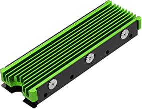 NVMe Heatsinks for M.2 2280mm SSD Double-Sided Cooling Design(Green)