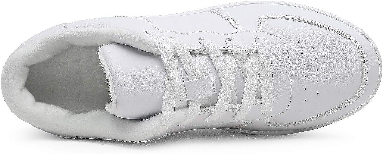 Hoylson Zapatillas Deportivas de Mujer Zapatos de Cu/ña Aptitud Sneakers Calzado para Damas Blanco Negro Rosado 35-42
