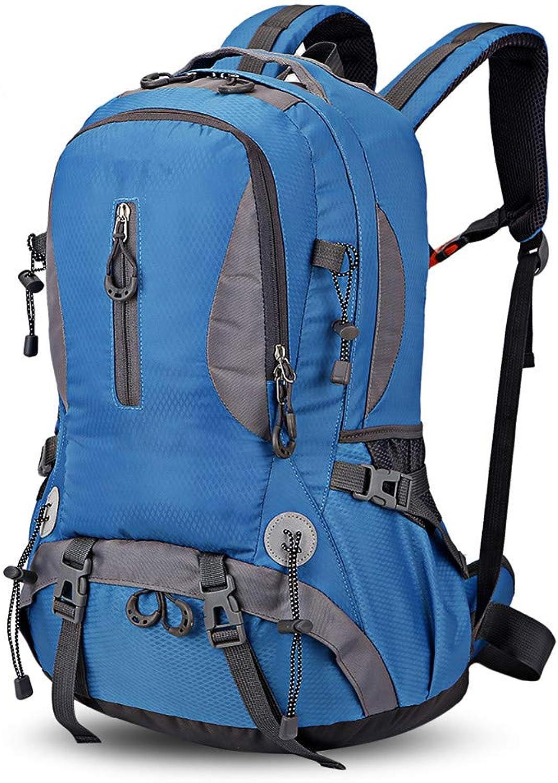 HUDUI Outdoor Camping Rucksack 30L Bergsteigen Wandern Wasserdichte Sportrucksack groe Kapazitt Rucksack Freizeit Tasche