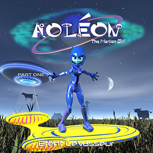 Aoleon the Martian Girl audiobook cover art