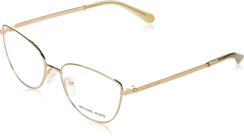 Michael Kors BUENA VISTA MK3030 Eyeglass Frames 1108-54 - Shiny Rose MK3030-1108-54