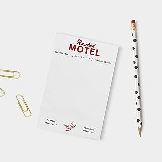 Simply Shop Schitt's Creek - Rosebud Motel Notepad