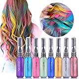 MS.DEAR Temporary Hair Color Chalk 8 Colors Instantly Hair Chalks Set...