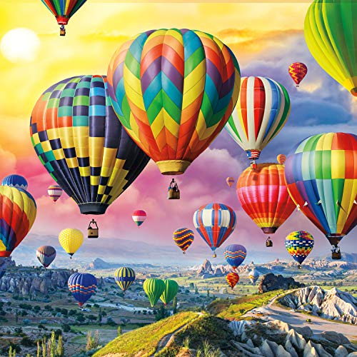 Buffalo Games Up Up and Away 300 Large Piece Jigsaw Puzzle Now $8.97