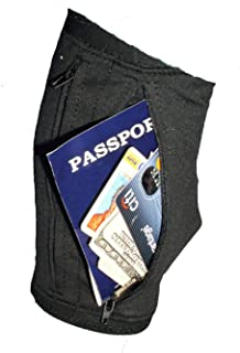 Enroute Deluxe Travel Leg Wallet, Black