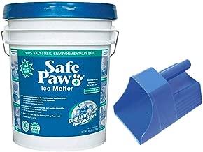 Safe Paw Ice Melter 35lb Pail (35lb - Pail w/Scoop)