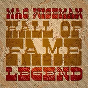 Mac Wiseman-Hall of Fame Legend
