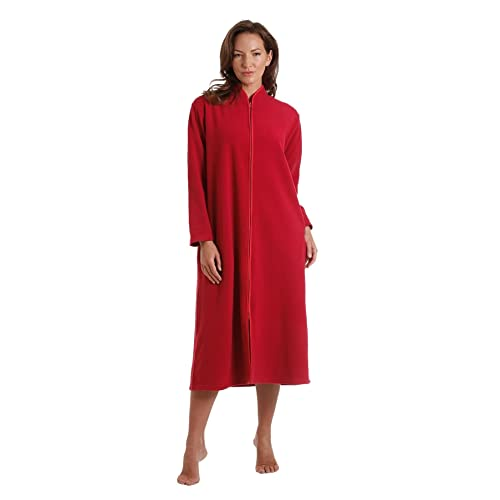 e5f842945e Dressing Gown with Zip  Amazon.co.uk