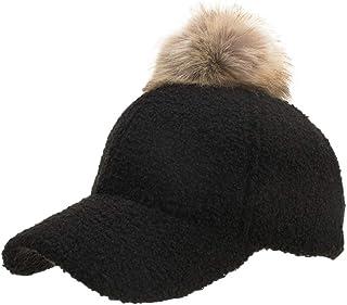 7a082ed8477 Annhoo Women Fashion Hats,Fashion Men Women Winter Wool Cap Bone Gorras  Black Tactical Baseball