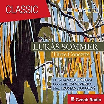 Lukáš Sommer: Three Concerts (Live)
