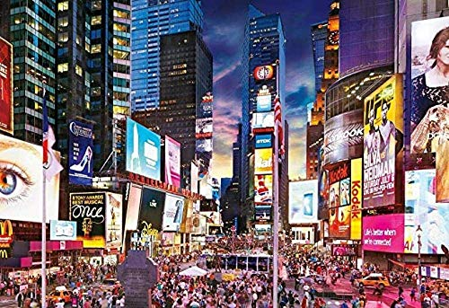 YOUFUSH Puzzle 1000 Piece Puzzle Erwachsene Time Square Erwachsene Kinder geschicklichkeitsspiel pädagogisches stressfreisetzung Spielzeug