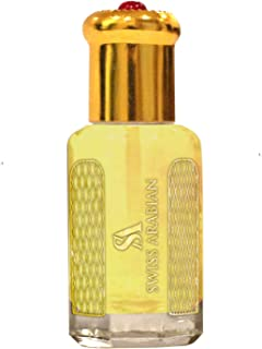 Marrakesh 12mL | Artisanal Hand Crafted Perfume Oil Fragrance for Men| Traditional Attar Style Cologne | by Perfumer Swiss Arabian | Great Gift/Party Favors | Pocket Size Body Oil