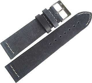 ColaReb 20mm Venezia Blue Leather Watch Strap