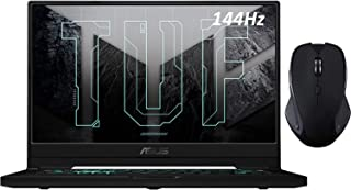 "2021 ASUS ゲーミング ノートパソコン TUF Dash F15 3060 ラップトップ 144Hz FHD 15.6"" 1080p Core i7-11370H NVIDIA GeForce RTX 3060 16GB RAM 1TB..."